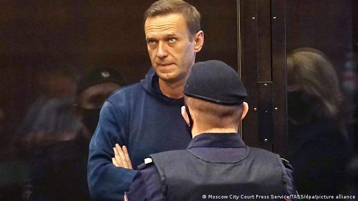 Russland Moskau | Alexei Navalny vor Gericht