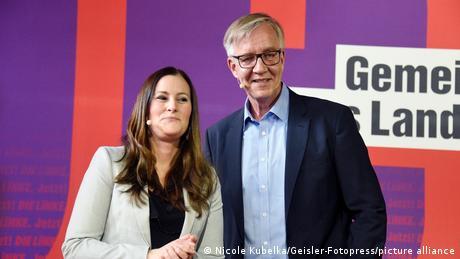Janine Wissler e Dietmar Bartsch