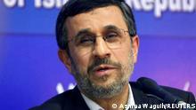 Iran Präsident Mahmoud Ahmadinejad