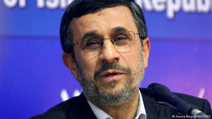 Former Iran President Mahmoud Ahmadinejad