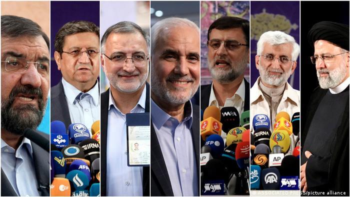 هفت نامزد انتخابات ۱۴۰۰