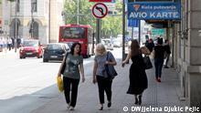 Serbien Bürger von Niš werden diesen Sommer zu Hause verbringen