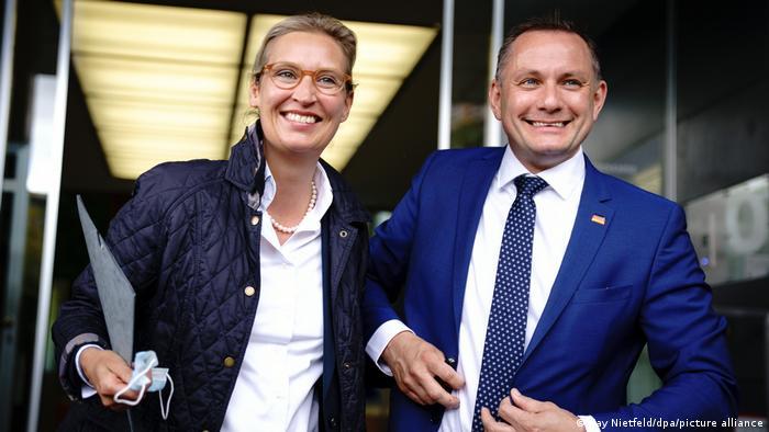 AfD - Alice Weidel și Tino Chrupalla