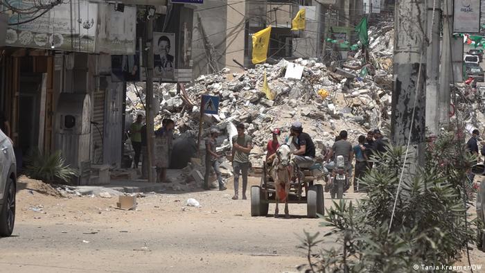Gaza nach den Bombenangriffen Israels