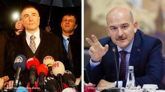 Kombobild Sedat Peker und Süleyman Soylu