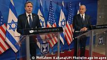 Israelisch-palästinensischer Konflikt : US-Außenminister Blinken zu Besuch in den Nahen Osten