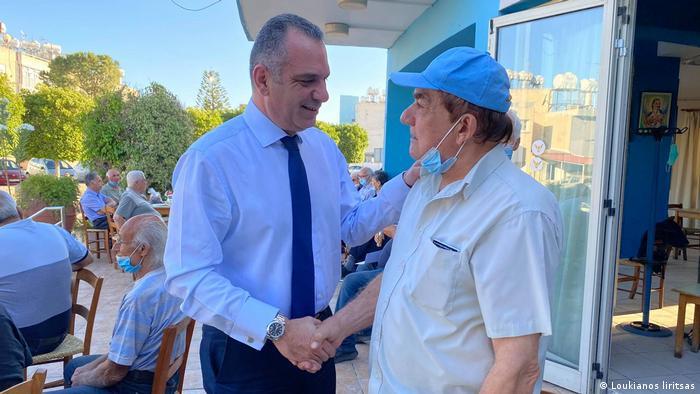 Zypern Wahlen l MP Michalis Sophocleous und Christoforou