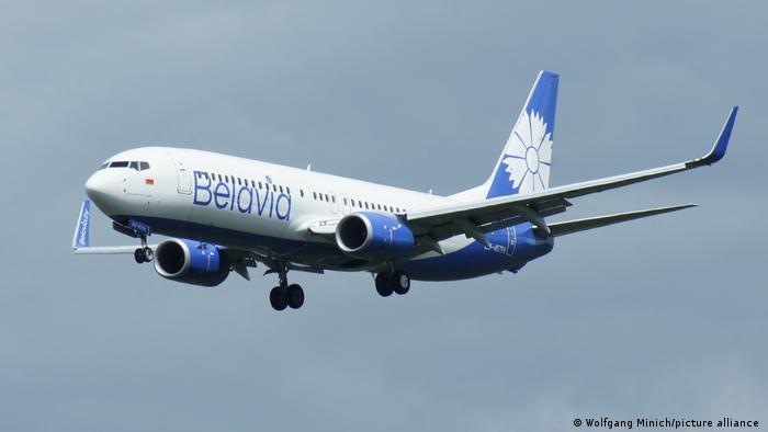 Самолет белорусской госавиакомпании Belavia