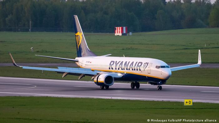 Samolot pasażerski Ryanair został przechwycony przez Białoruś