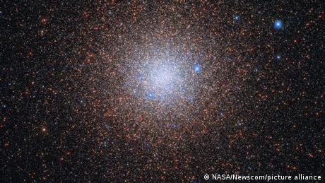 Almost like snowflakes, the stars of the globular cluster NGC 6441 sparkle peacefully in the night sky