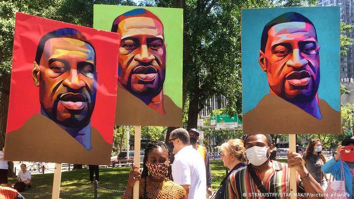 Протесты в годовщину убийства Джорджа Флойда