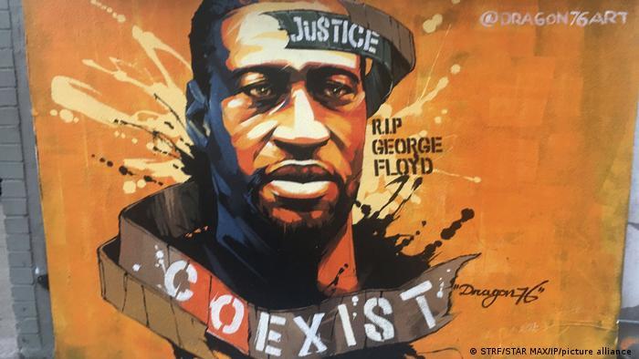 Proteste zum ersten Jahrestag von George Floyd
