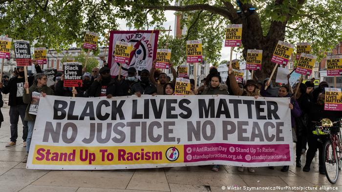 Black Lives Matter demonstration in London