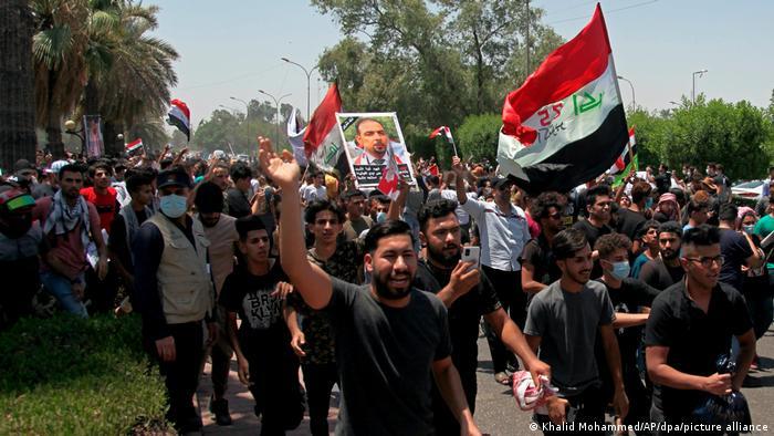 Irak I Proteste in Bagdad