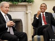 باراک اوباما، رئیس جمهوری آمریکا و بنیامین نتانیاهو، نخست وزیر اسرائیل در کاخ سفید