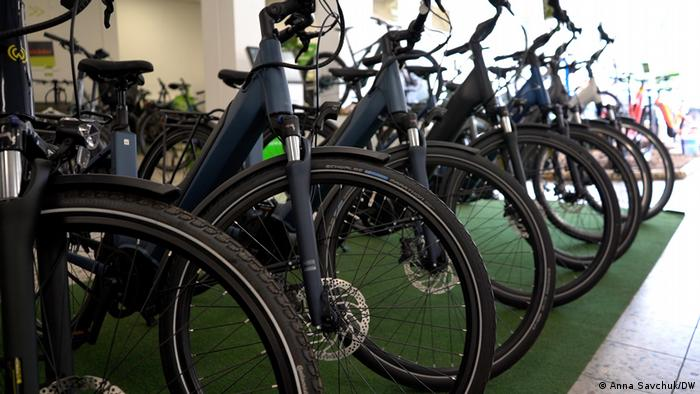 Fahrraddiebstahl in Deutschland und Schmuggel in die Ukraine | e-Bikes bei E-Motion in Berlin