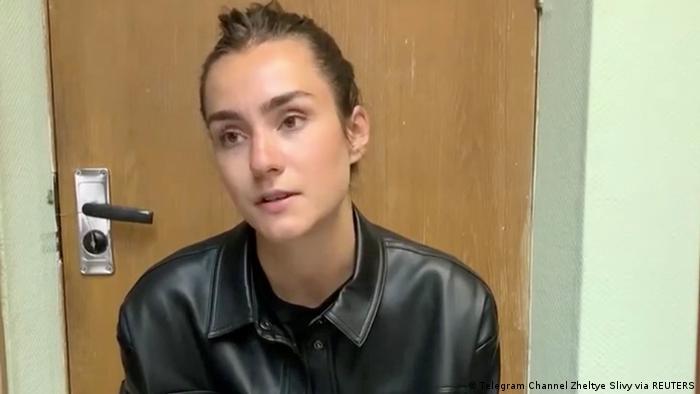Sofia Sapega, die Freundin von Roman Protassewitsch