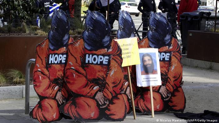 Protest gegen Guantanamo