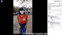 Facebook Screenshot   Video von Alma Barragán bevor sie erschossen wurde