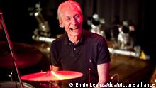 epa05330513 (FILE) The file picture dated 13 January 2010 shows drummer of British band The Rolling Stones, Charlie Watts performing with the band 'The ABC and D of Boogie Woogie' at the Casino in Herisau, Switzerland. Charlie Watts turns 75 on 02 June 2016. EPA/ENNIO LEANZA *** Local Caption *** 01988222 ++