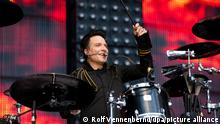 Drummer and singer of the band 'Die Aerzte', Bela B:, performs at the first 'Aerztival' at RheinEnergieStadium in Cologne, Germany, 15 June 2013. Photo:Rolf Vennenbernd