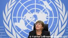 Schweiz l UN-Menschenrechtskommissarin Michelle Bachelet