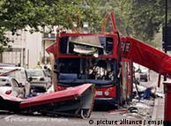 Atentado  contra ônibus em 2005 em Tavistock Square, Londres