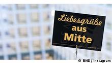 Screenshot BND Instagram Liebesgrüße , Instagram Post BND 2021 Quelle: BND / Instagram