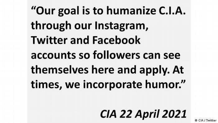 Screenshot CIA Humanize