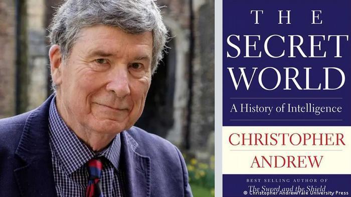 Christopher Andrew und Buchcover The Secret World
