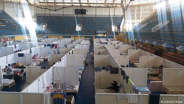 Argentinien Coronavirus l Lockdown - Isolationszentrum in Formosa