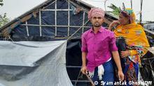 27.05.2021 Dmahakhali, near Sundarban. Cyclone Yaas had devasted vast area of West Bengal, India.