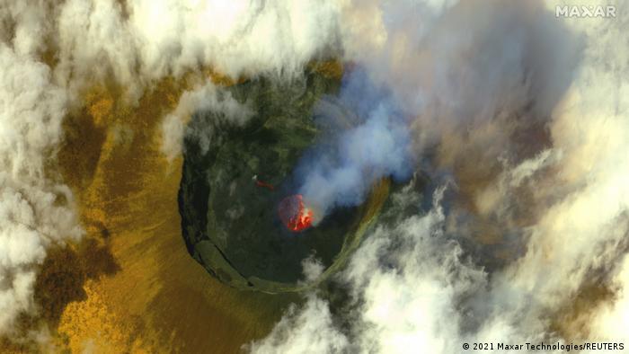 Kongo | Vulkanausbruch Nyiragongo