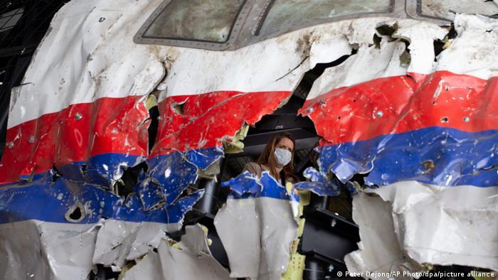 Weltspiegel | Gilze-Rijen, Niederlande | Wrack des MH17-Fluges