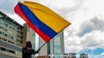 Proteste gegen Regierung in Kolumbien