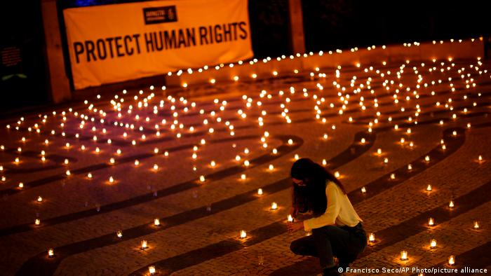 Portugal | Amnesty International Mahnwache in Porto