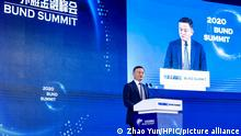 24.10.2020 Jack Ma, the co-chair of the UN High-Level Panel on Digital Cooperation, founder of Alibaba Group, attends the Bund Summit in Shanghai. He says that the essence of finance is credit management. We must change the pawnshop idea of Finance and rely on the credit system. Shanghai, China, 24 October 2020. Jack Ma, the co-chair of the UN High-Level Panel on Digital Cooperation, founder of Alibaba Group, attended the Bund Summit in Shanghai. He says that the essence of finance is credit management. We must change the pawnshop idea of Finance and rely on the credit system.