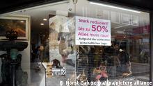 Deutschland | Coronavirus | Maßnahmen und wirtschaftliche Folgen