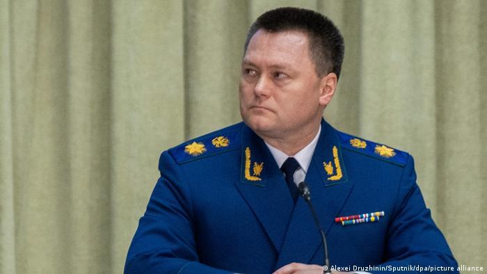 Russia's Prosecutor General Igor Krasnov