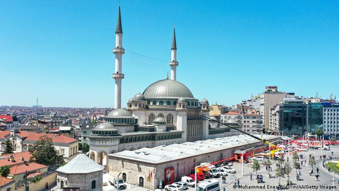 Türkei Taksim Moschee in Istanbul