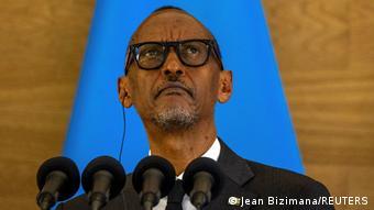 Ruanda   Emmanuel Macron in Kigali  Paul Kagame