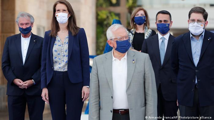 Neki od europskih ministara vanjskih poslova u Lisabonu
