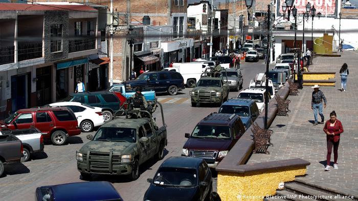 Mexiko Drogenhandel | Patrouillen der Nationalgarde