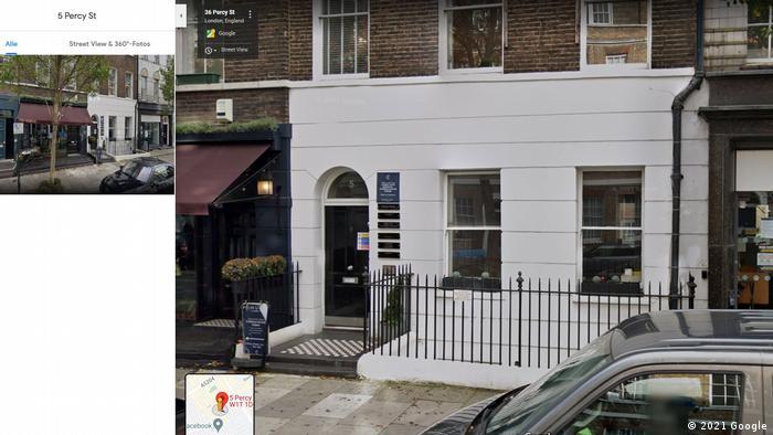 Дом по адресу 5 Percy Street в Лондоне