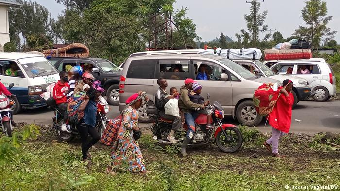 Le volcan Nyiragongo provoque le départ de dizaines de milliers de Congolais de Goma