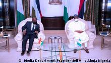 Nigeria Abuja | Militärputsch ECOWAS | Buhari und Akufo-Addo