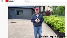Screenshot YouTube Valery Tsepkalo
