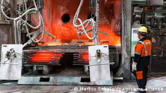 This plant in Hamburg uses green hydrogen to produce copper