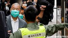 Hongkong Gerichtsverfahren gegen Jimmy Lai
