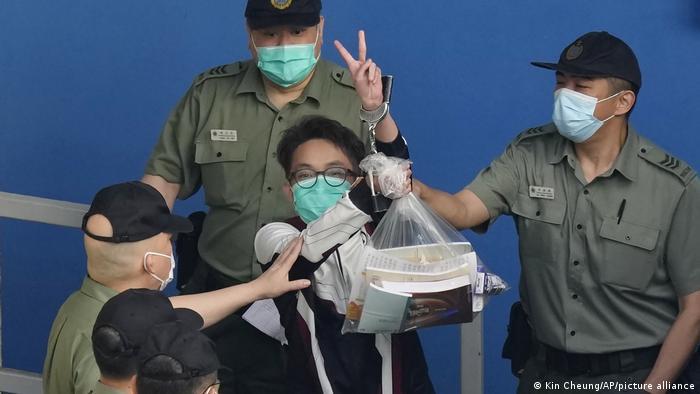 Hongkong Pro-Demokratie-Aktivist Figo Chan